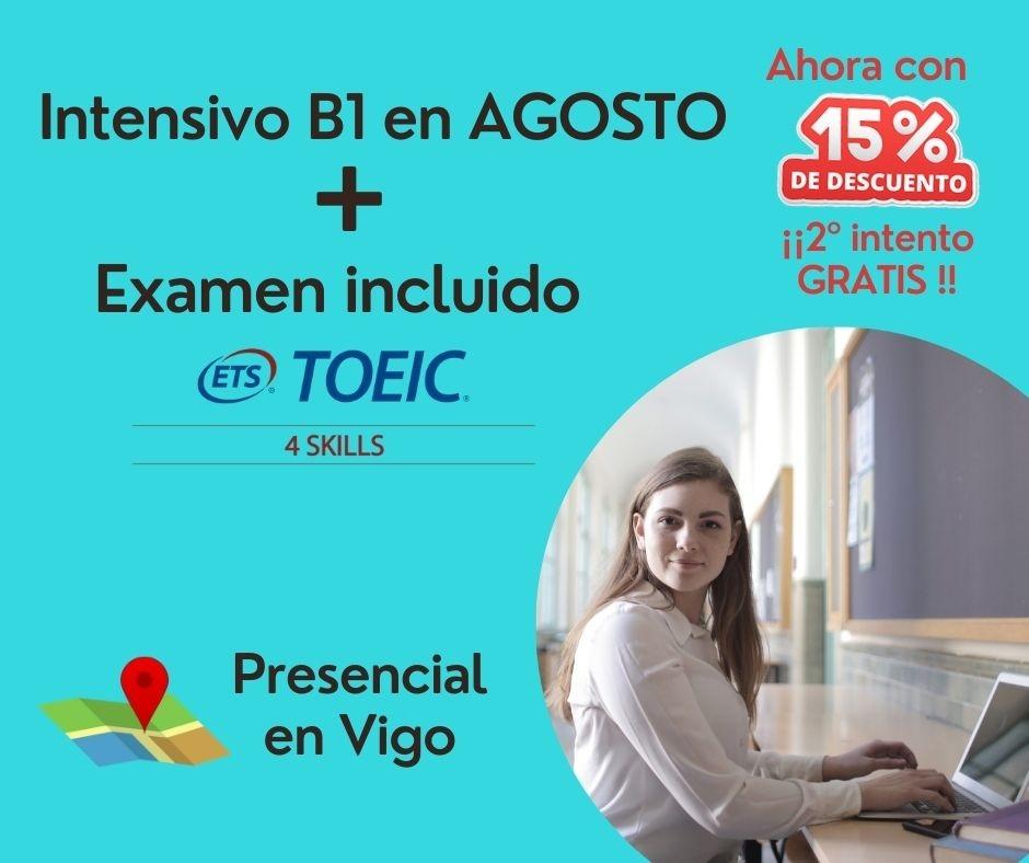 Intensivo Certificación Inglés B1 (Agosto)