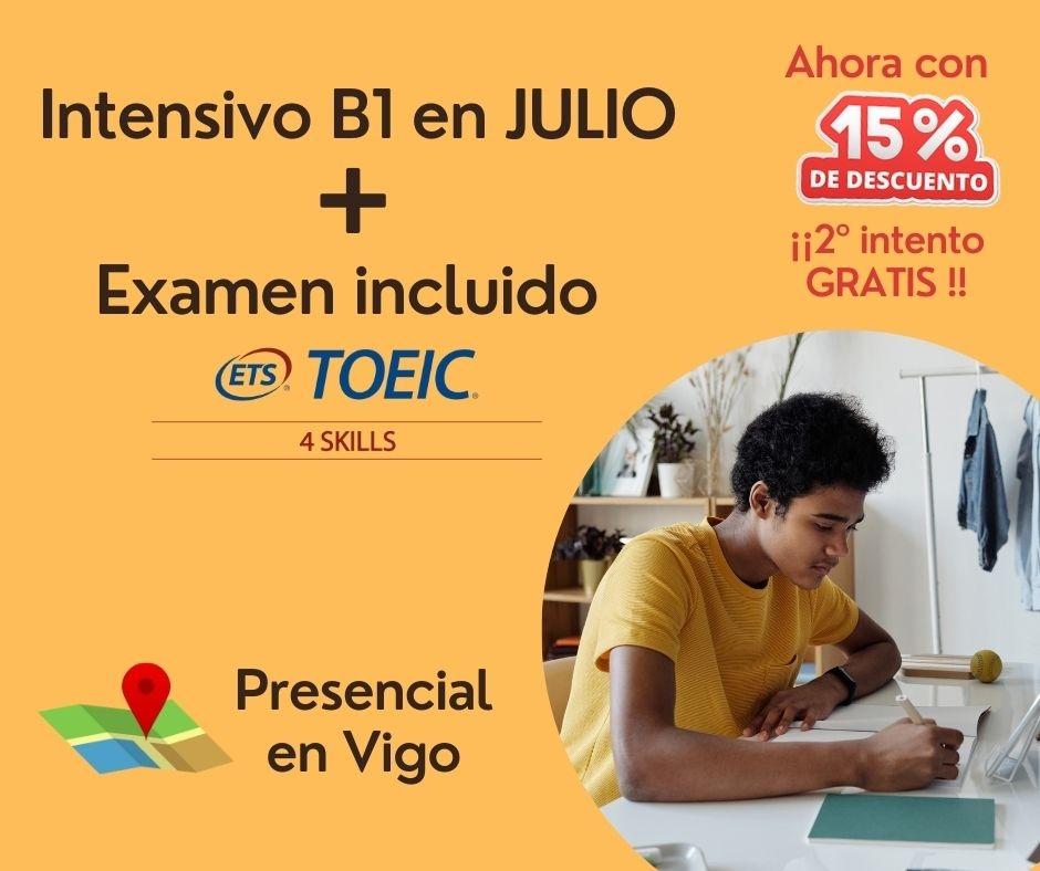 Intensivo Certificación Inglés B1 (Julio)